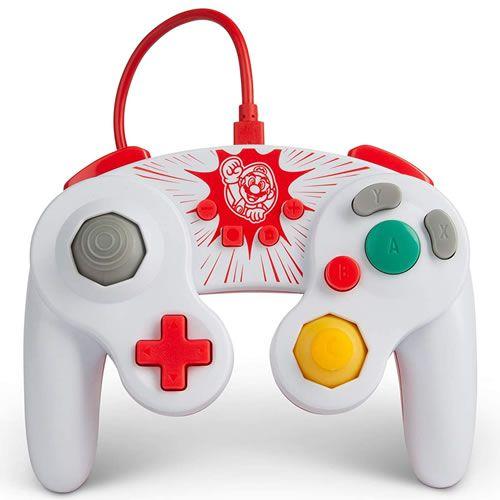 Controle Com Fio Super Mario Bros Battle Pad - PowerA