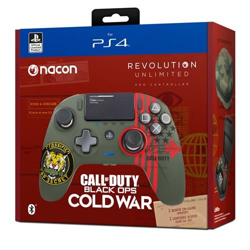 Controle Sem Fio Nacon Revolution Unlimited Call of Duty Black Ops Cold War - PS4 / PC