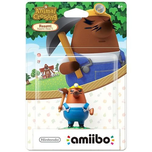 Amiibo Resetti Animal Crossing Series - Nintendo