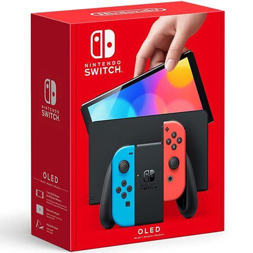 Console Nintendo Switch 64GB Oled Azul / Vermelho - Nintendo