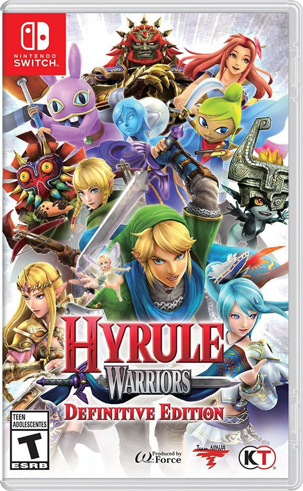 Game Hyrule Warriors Definitive Edition - Switch