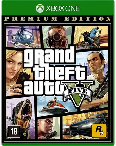 Game Grand Theft Auto V Premium Edition - Xbox One