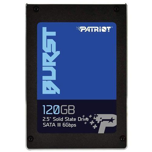 SSD 120GB 2.5 Sata III 6Gbps Patriot Burst - Patriot