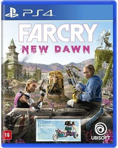 Game FarCry New Dawn - PS4