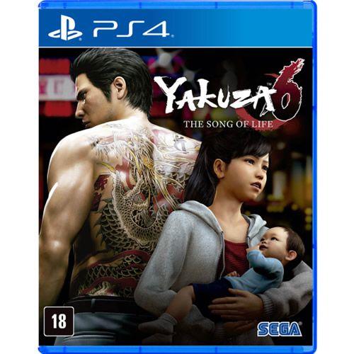 Game Yakuza 6 The Song of Life - PS4