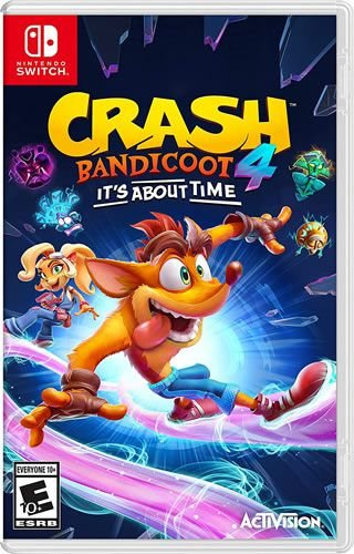 Game Crash Bandicoot 4 It's About Time - Switch