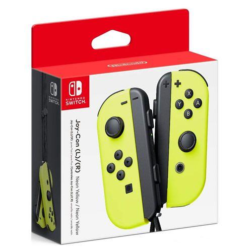 Controle Joy-Con L/R Amarelo - Switch (Seminovo)