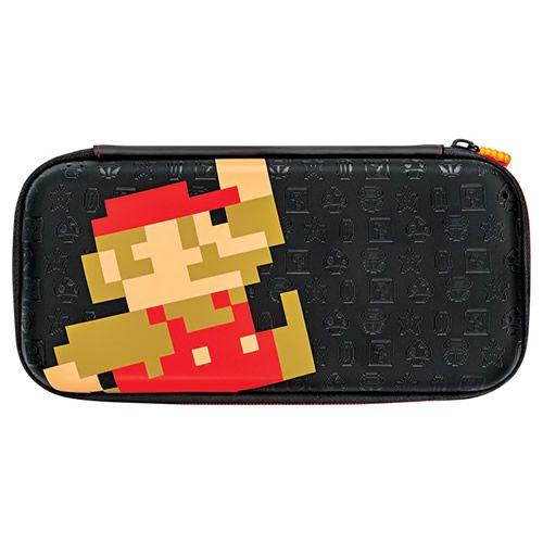 Switch Slim Travel Case Mario Retro Edition PDP - Switch