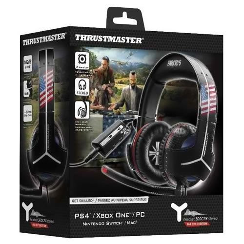 Headset Com Fio Y-300CPX Far Cry 5 Edition PS4 / Xbox One / PC  - Thrustmaster [Reembalado]