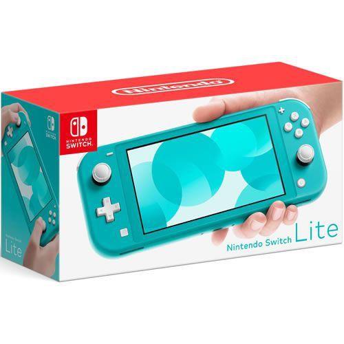 Console Nintendo Switch Lite 32GB Turquoise - Nintendo