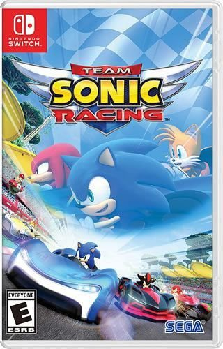 Game Sonic Team Racing - Switch