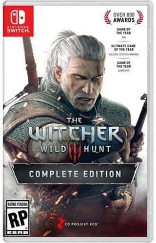 Game The Witcher III Wild Hunt Complete Edition - Switch