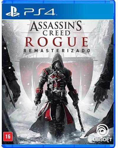 Game Assassin's Creed Rogue Remasterizado - PS4
