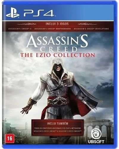 Game Assassin's Creed The Ezio Collection - PS4