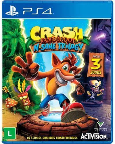 Game Crash Bandicoot N Sane Trilogy - PS4