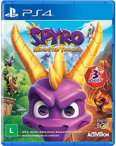 Game Spyro Reignited Trilogy - PS4