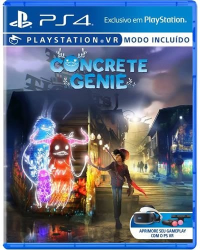 Game Concrete Genie VR - PS4