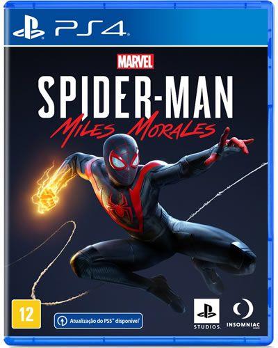 Game Marvel Spider Man Miles Morales - PS4