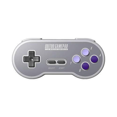 Controle 8Bitdo Sem fio 2.4ghz SF30 Gamepad - Snes , SFC Classic Edition - 8Bitdo