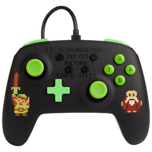 Controle Com Fio PowerA Retro Zelda - Switch