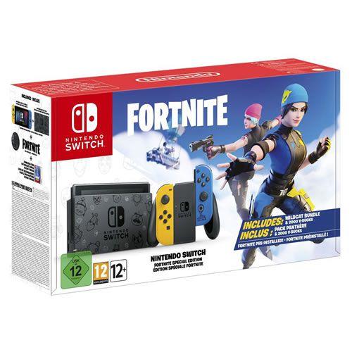 Console Nintendo Switch 32GB Fortnite Special Edition - Nintendo [Sem código]
