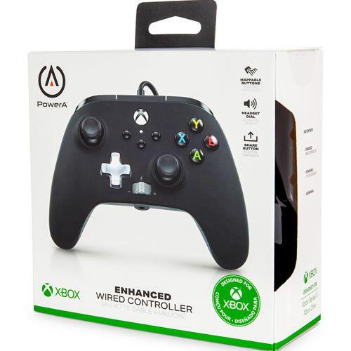 Controle Com Fio PowerA Preto - Xbox Series S/X