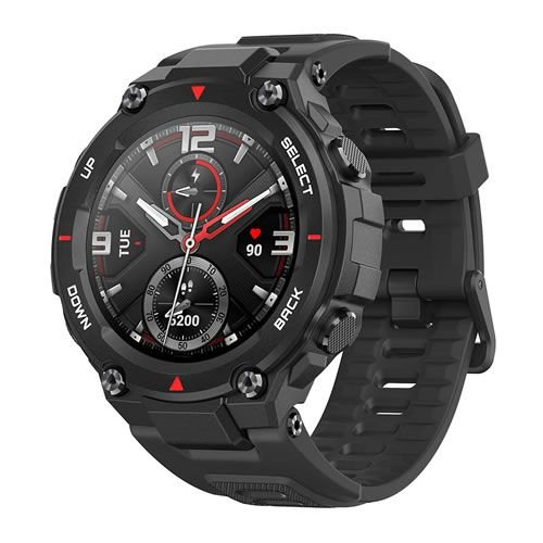Relógio Amazfit T-Rex 47mm - Rock Black