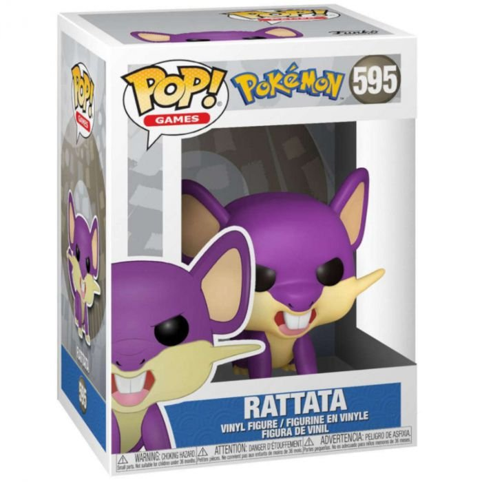 Pop! Games Pokémon Rattata - Funko