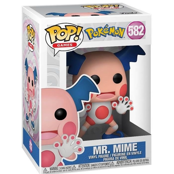 Pop! Games Pokémon Mr Mime - Funko