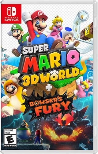 Game Super Mario 3D World + Bowser's Fury - Switch