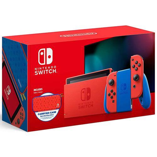 Console Nintendo Switch 32GB Super Mario Edition - Nintendo
