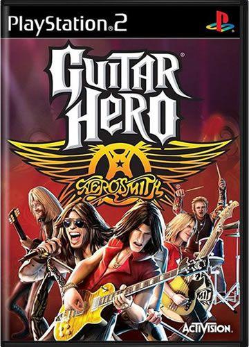 Game Guitar Hero Aerosmith - PS2 [usado]