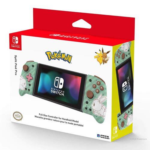 Controle Split Pad Pro Pikachu Eevee - Hori
