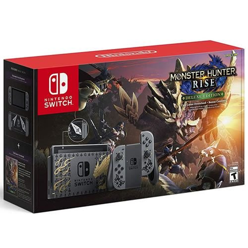 Console Nintendo Switch 32GB Monster Hunter Rise Limited Edition - Nintendo