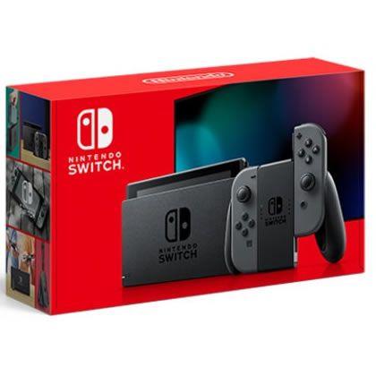Console Nintendo Switch 32GB XKW Cinza - Nintendo (Garantia Oficial)