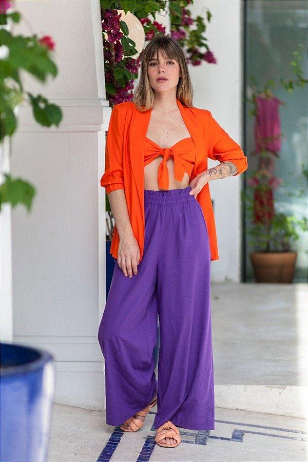Pantalona Noronha Púrpura
