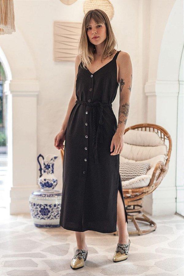 Vestido Lisboa Preto