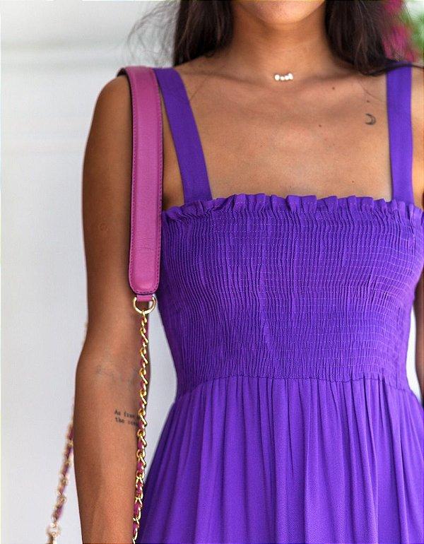 Vestido Hungria Púrpura