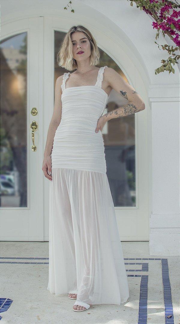 Vestido Monte Carlo Off White