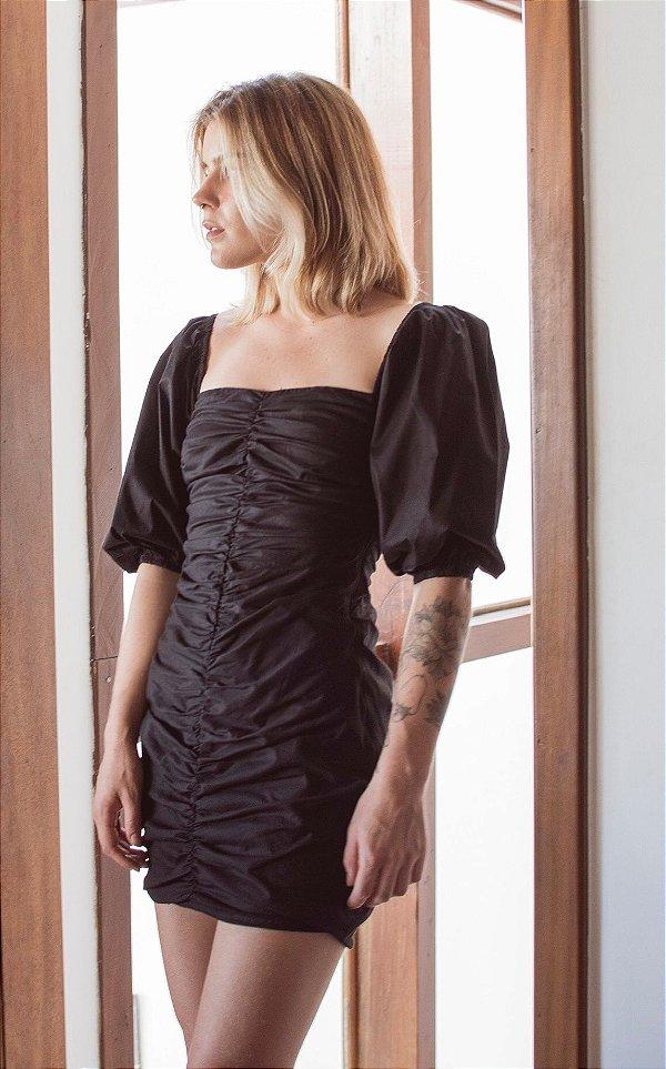 Vestido Atenas Preto