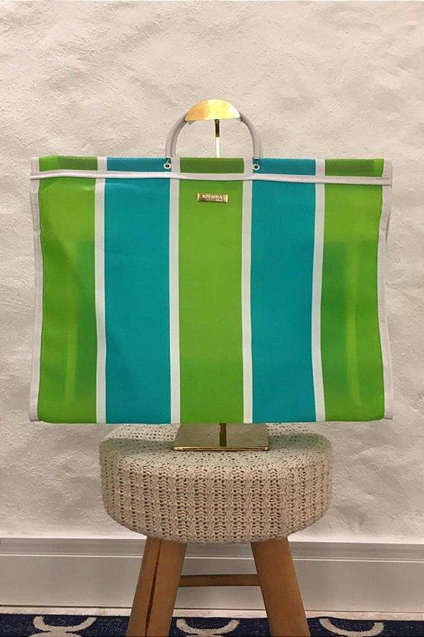 Bolsa Neon Stripes