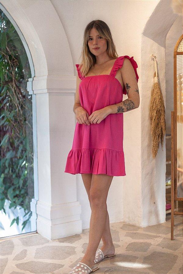 Vestido Madri Curto Pink