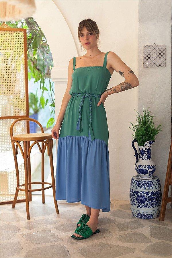 Vestido Lince Color Verde