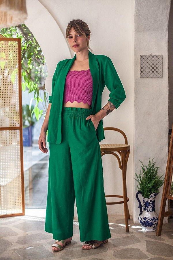 Pantalona Avocato Verde