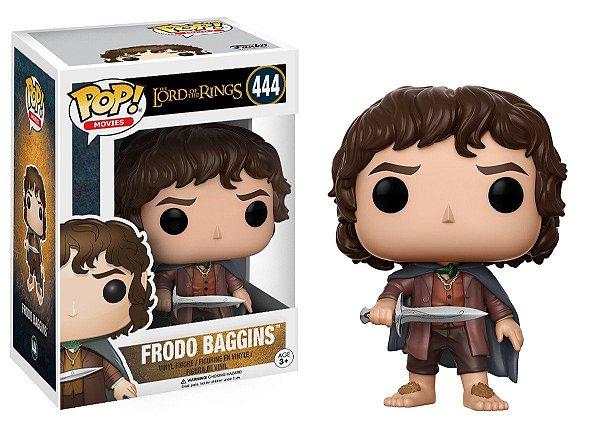 Boneco Funko Pop O Senhor dos Anéis Frodo Baggins 444