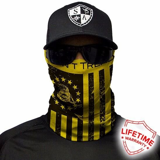 Bandana Balaclava Face Shield Don't Tread On Freedom