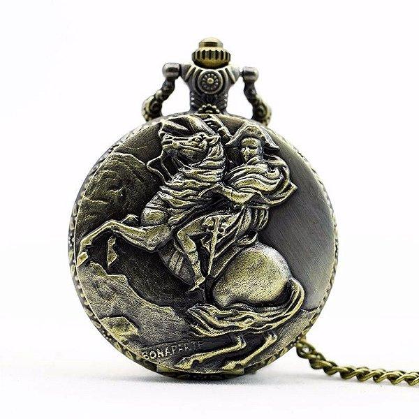 Relógio De Bolso Napoleão França General Quadro Famoso