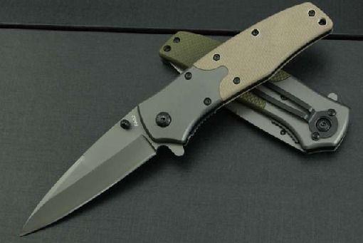 Canivete De Camping Fa02 Semi Automático