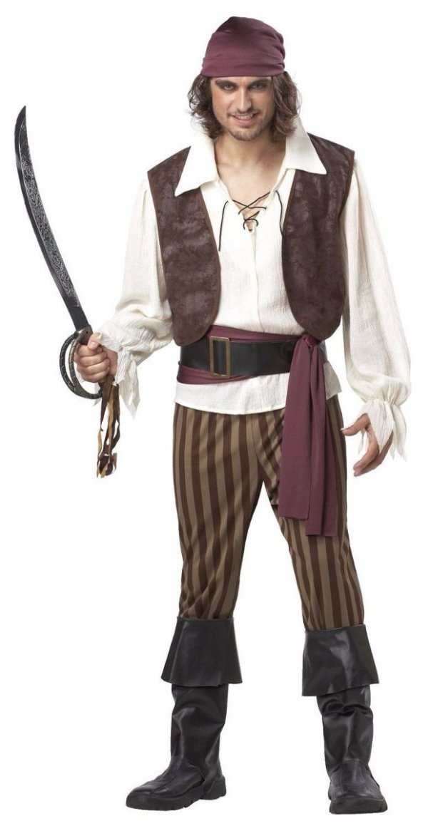 Fantasia Cosplay Pirata Rogue Pirate Festa Luxo