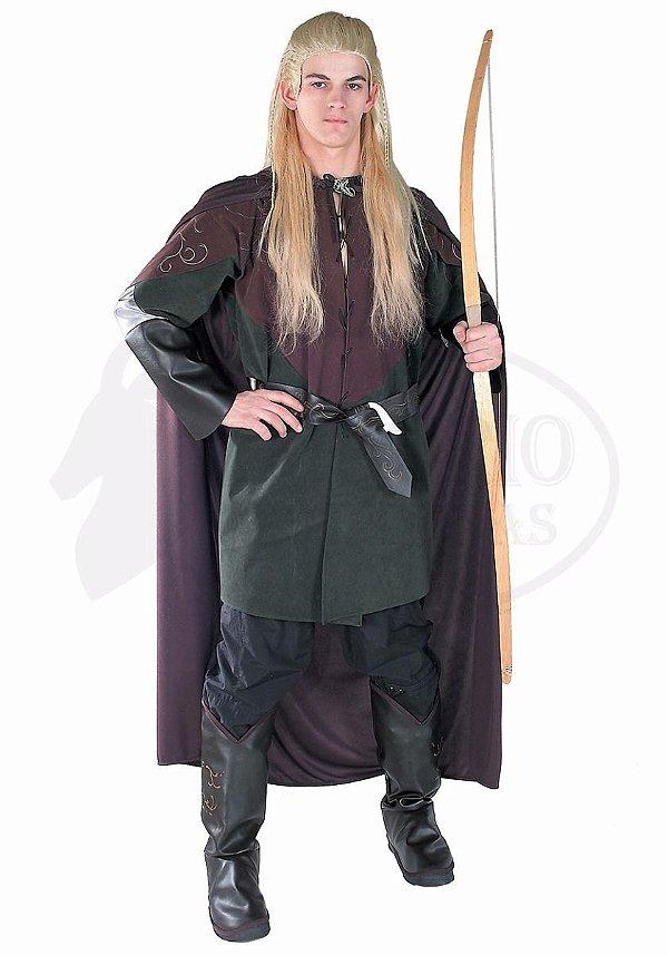 Fantasia Cosplay Elfo Legolas Licenciado Importado Luxo